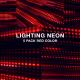 Neon Lighting Red Dot