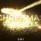 Gold Christmas Streaks