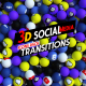 3D Social Media Icons Pack
