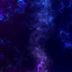 Abstract Glowing Space Background