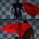 4K 2 In 1 Superman's Cloak