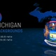 Michigan Oklahoma State Election Backgrounds HD - 7 Pack