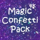 4k Magic Confetti Pack