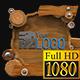Wooden Lowerthirds FullHD (Mograph)