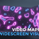Neon Shapes Widescreen Loop