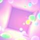 Purple Glowing Balls Room
