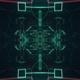 Network Digital Hi Tech Tehnology Sci-Fi Cyber Tunnel Loop Background