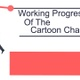 Working Progress Of The Cartoon Character