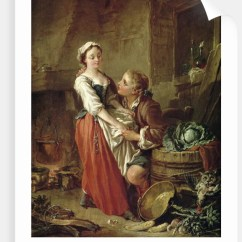 Kitchen Maid Professional Knives The Beautiful Posters Prints By Francois Boucher