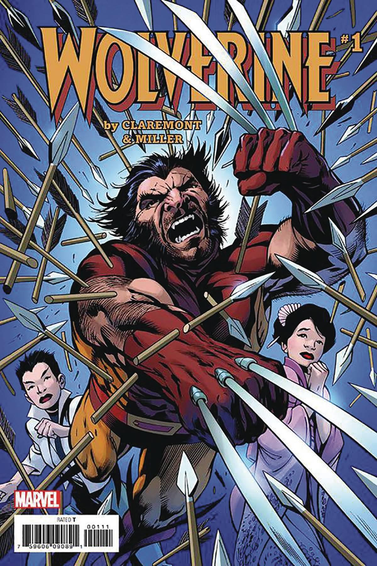 Wolverine Beard Comic : wolverine, beard, comic, JAN201743, WOLVERINE, DAVIS, Previews, World