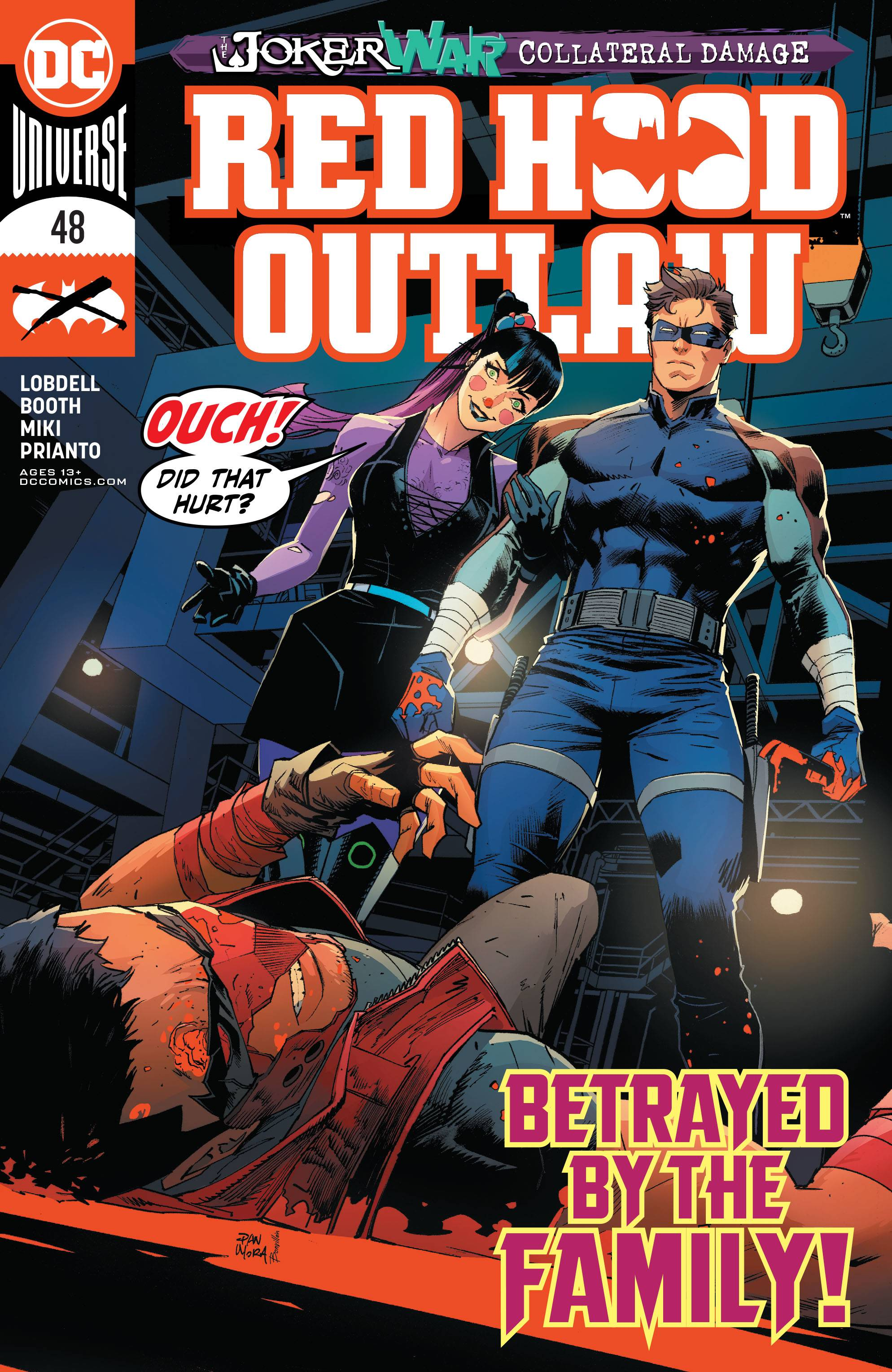 Red Hood And The Outlaws : outlaws, JUN200461, OUTLAW, Previews, World