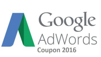 Google AdWords Coupon 2016