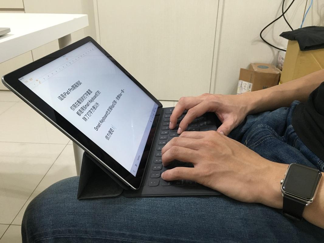 iPad Pro + Smart Keyboard 開箱測試 - 蘋果仁