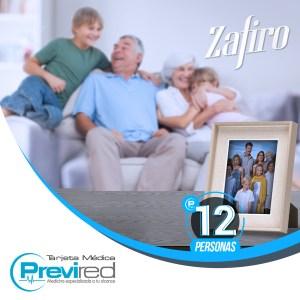 SUSCRIPCIÓN ZAFIRO PRESIDENCIAL PARA 12 PERSONAS