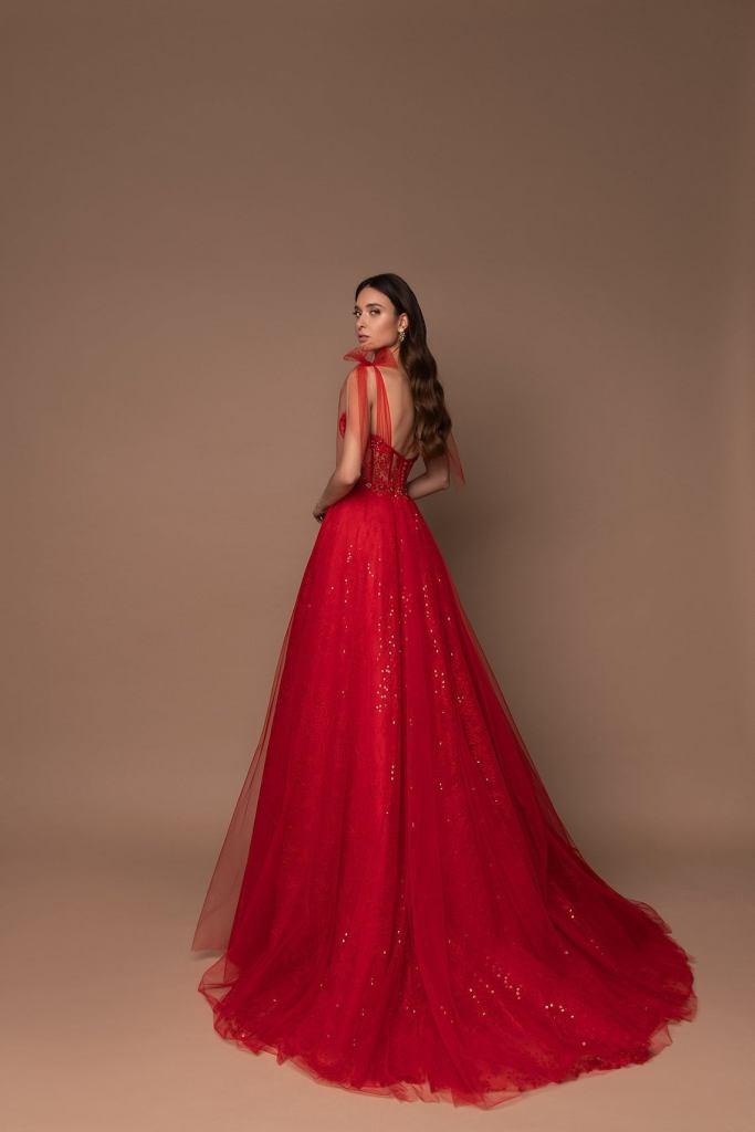 váy cưới đẹp màu đỏ