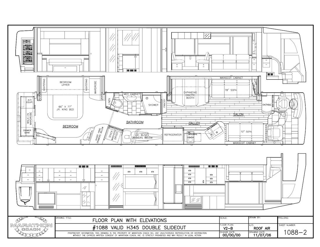 Prevost Floor Plans
