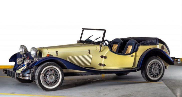 prevoz putnika oldtajmer La contesa zuta replika jaguar ss 100 1936