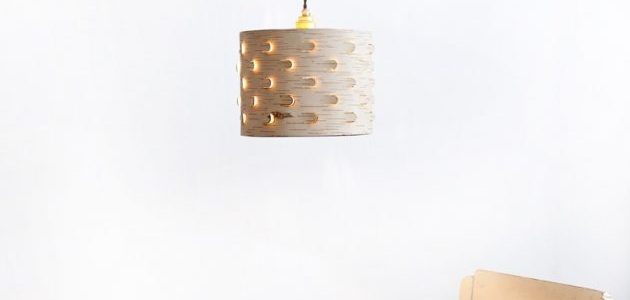 Ruska lampa od kore brezinog drveta