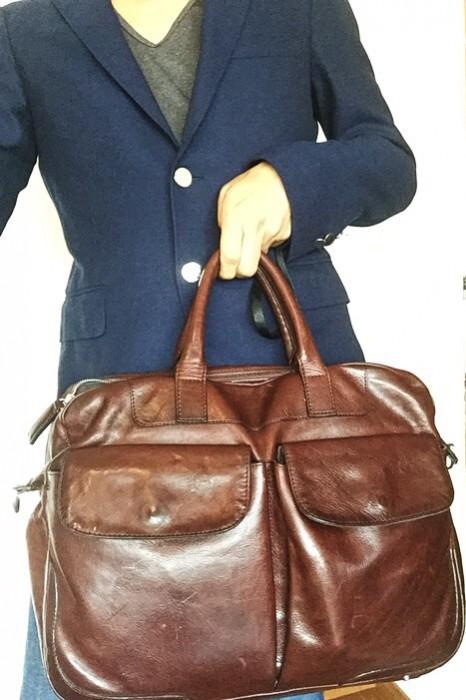 ココマイスター ビジネスバッグ マットーネ・アルヴィート ビジネスでもカジュアルでも使えるバッグ