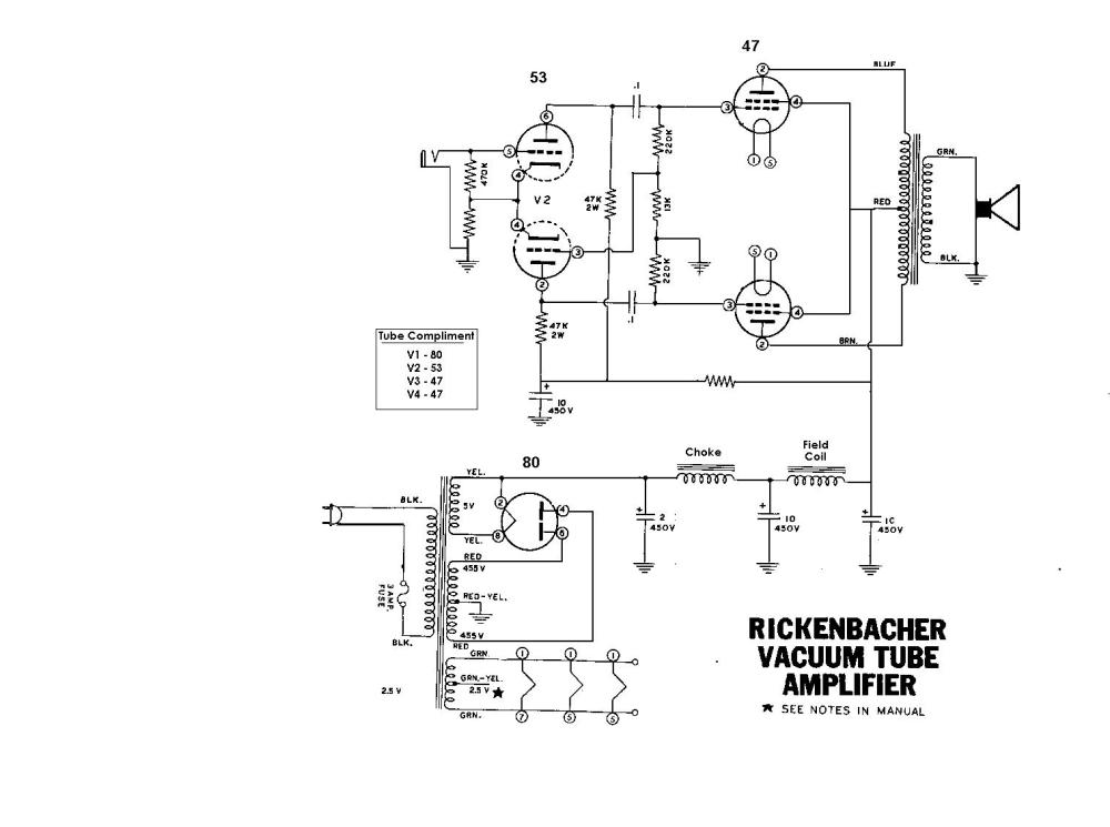 medium resolution of rickenbacher electro model b schematic