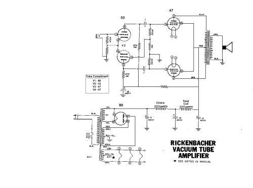 small resolution of rickenbacher electro model b schematic