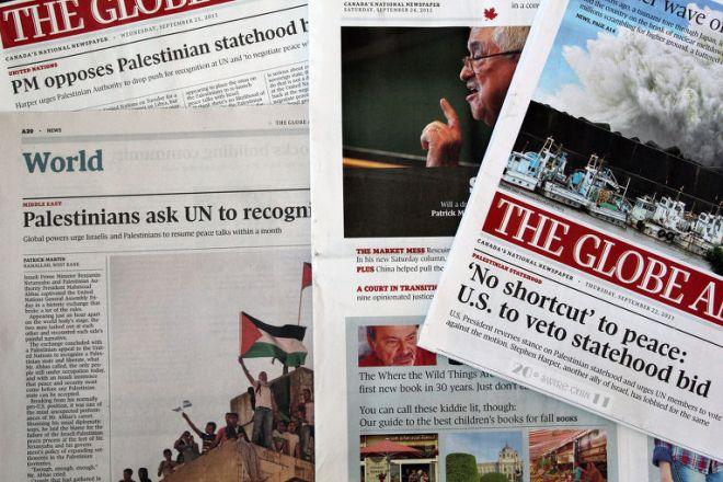 Газеты Канады