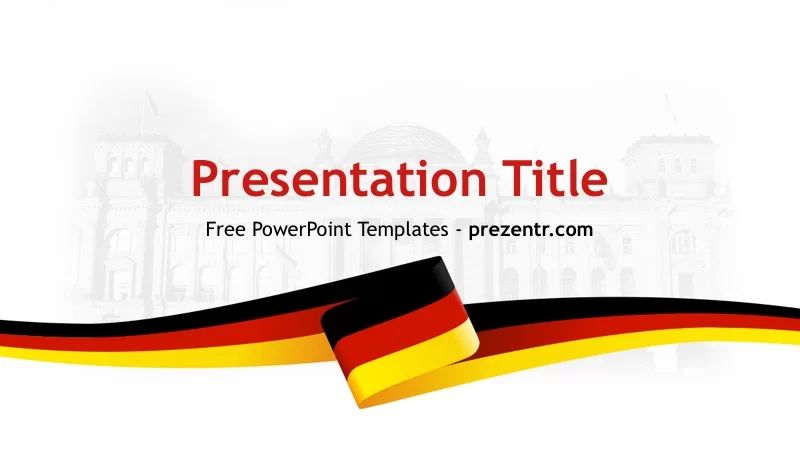 germany ppt template
