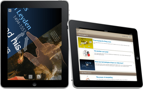 Prezi iPad application previews