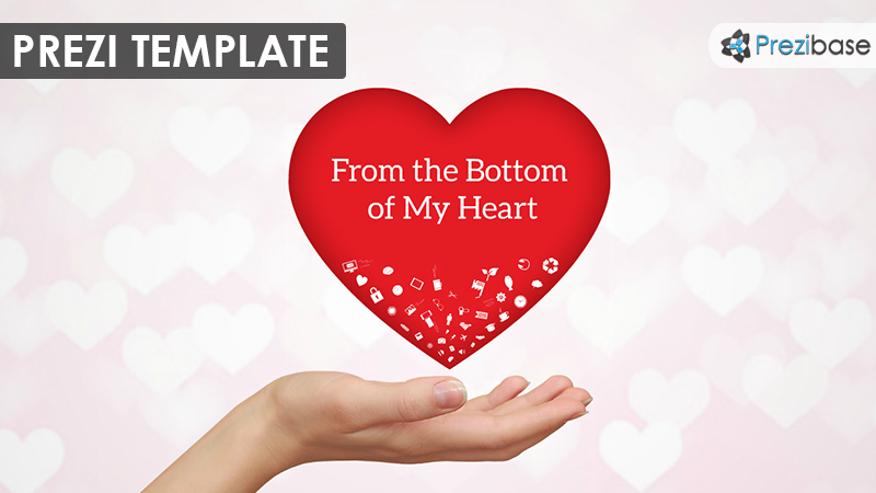 From The Bottom Of My Heart Prezi Template Prezibase