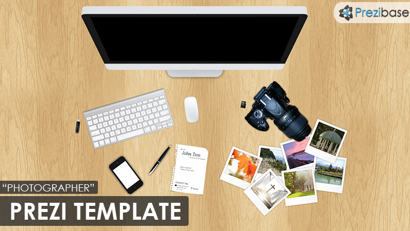 The Photographer Prezi Template Prezibase