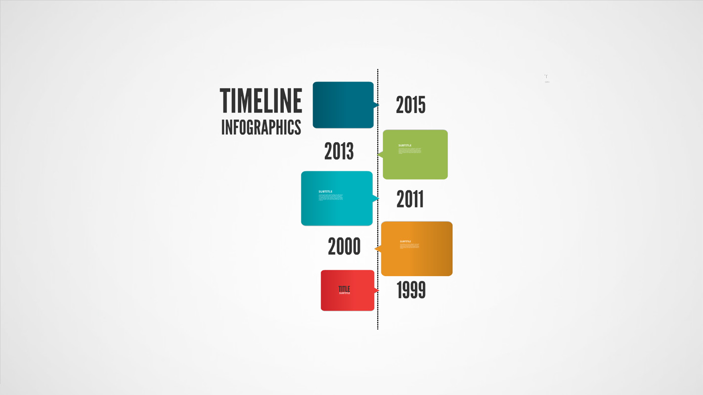 cool timeline template