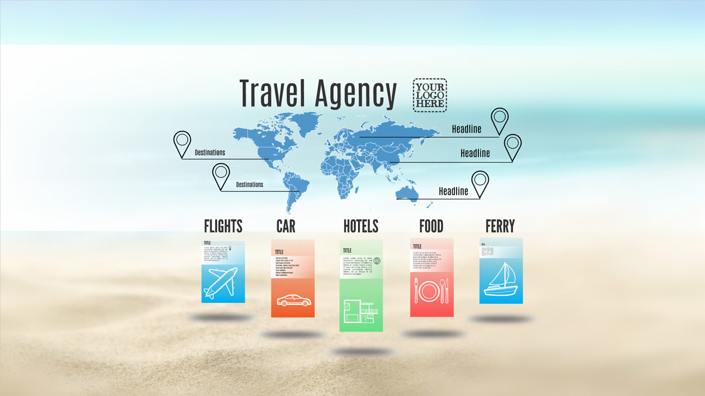 Car Wallpaper Bussines Card Travel Agency Prezi Template Prezibase
