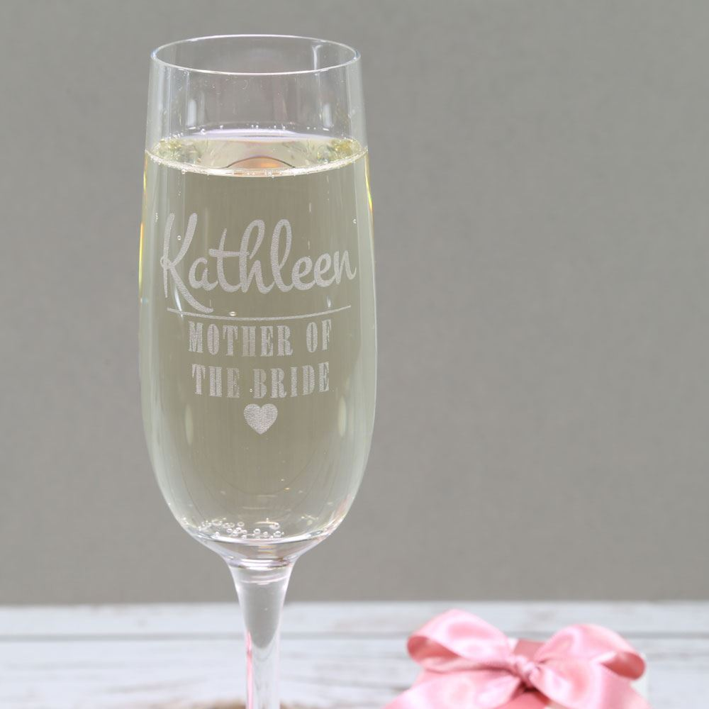 Wedding Party Prosecco Glass Prezzely