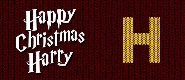 Happy Christmas Harry Mug Design