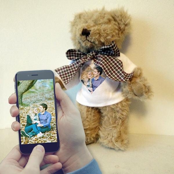 Edward Teddy Bear Front