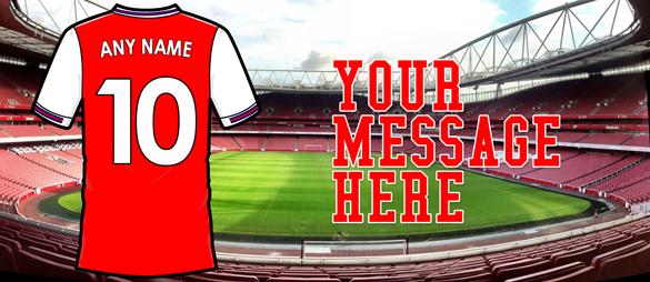 Personalised Arsenal 2020 Football Mug
