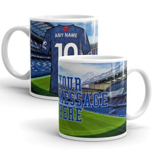Personalised Chelsea 2020 Football Mug