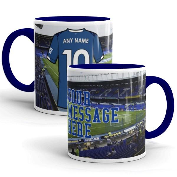 Personalised Everton 2020 Football Mug