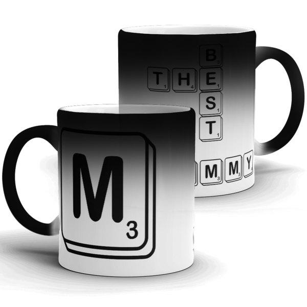 Letter Tile Scrabble Mug