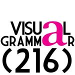 visual grammar 216