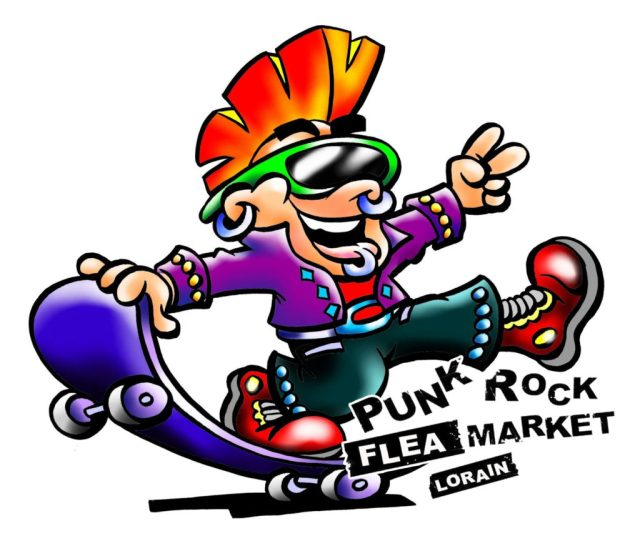 Punk Rock Flea Market Lorain Make America Skate Again