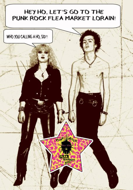 sid and nancy punk rock flea market lorain spring show 2018