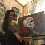 Zoemarie Williams horror art PRFM Lorain vendor
