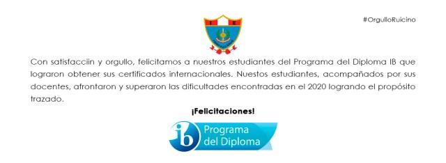 Felicitación PD IB