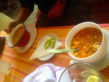Gulyash and bean soup... (getting hungry again typing this)