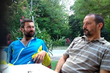 evening philosophy with Attila