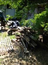 firewood preparation