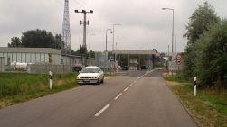 approaching the EU border