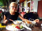 Ćevapi for dinner! http://en.wikipedia.org/wiki/%C4%86evapi