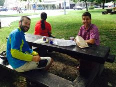 breakfast in the park